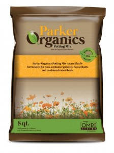 Parker Organics Potting Mix/ Soil
